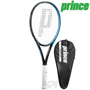 『即日出荷』 「2017モデル」Prince プリンス 「SIERRA 100 シエラ 100  ブラック×ブルー 7TJ022」硬式テニスラケット スマートテニスセンサー対応 「KPI」|sportsjapan