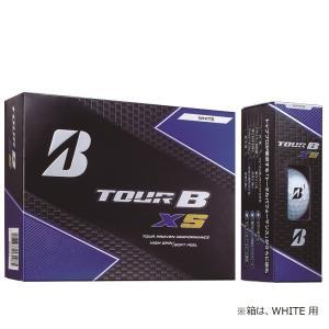 ブリヂストンゴルフ BRIDGESTONE GOLF ゴルフボール  TOUR B XS パールホワイト 8SGXJ|sportsjapan