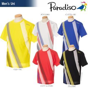 テニスウェア メンズ パラディーゾ PARADISO 半袖ゲームシャツ 97CM3A 2017SS2017新製品|sportsjapan