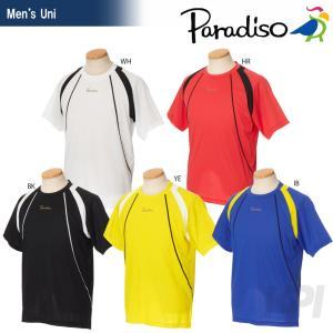 「2017新製品」PARADISO(パラディーゾ)「メンズ 半袖ゲームシャツ 97CM6A」テニスウェア「2017SS」KPI+|sportsjapan