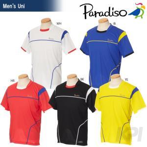 「2017新製品」PARADISO(パラディーゾ)「メンズ 半袖ゲームシャツ 97CM7A」テニスウェア「2017SS」KPI+|sportsjapan