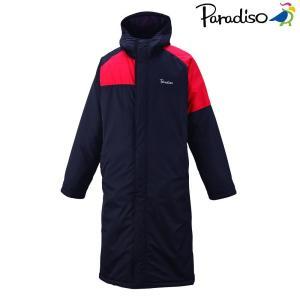 パラディーゾ PARADISO テニスウェア ユニセックス ベンチコート 98C10D 2018FW|sportsjapan