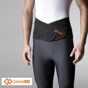 Colantotte コラントッテ 「ユニセックス X1ウエストベルト AEBFA01」腰サポーター 腰用ベルト 磁気サポーターX1-waistbelt|sportsjapan