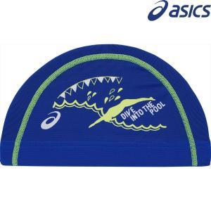 アシックス asics 水泳キャップ・バイザー  2色プリントメッシュキャップ AG5023-42D|sportsjapan