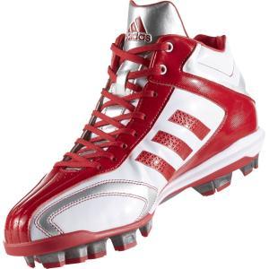 アディダス adidas 野球スパイク メンズ アディピュアT3 MID ポイント AQ8359 sportsjapan