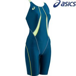 アシックス asics 水泳水着 レディース W'Sコアバランススパッツ ASL811-5786|sportsjapan