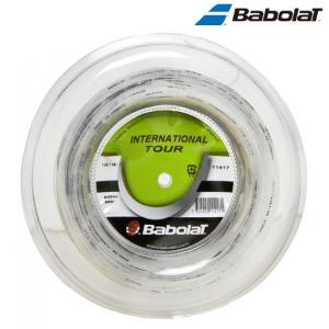 バボラ Babolat テニスガット・ストリング  INTERNATIONAL TOUR 132 200mロール BA11417 『即日出荷』|sportsjapan