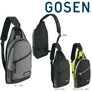 「2017新製品」GOSEN(ゴーセン)「ボディバッグ Townuse BA17TBB」テニスバッグKPI+|sportsjapan