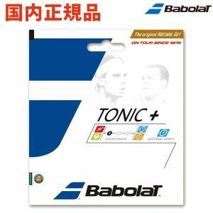 BabolaT バボラ 「トニックプラス ボールフィール BA201026」硬式テニスストリング ガ...