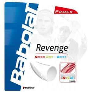 『即日出荷』 「■5張セット」Babolat(バボラ)「リベンジ125/130(REVENGE130)BA241072」硬式テニスストリング(ガット)KPI+ sportsjapan
