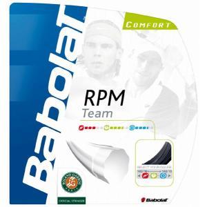 「■5張セット」BabolaT バボラ 「RPM TEAM RPMチーム 125/130 BA241097」硬式テニスストリング ガット  『即日出荷』 sportsjapan