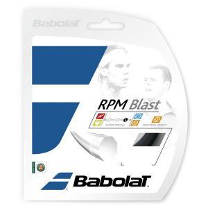 「5張セット」バボラ BabolaT 硬式テニスストリング ガット 「RPM Blast(RPMブラスト)120/125/130/135 BA241101」 sportsjapan