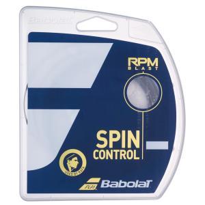『新パッケージ』BabolaT バボラ 「RPM Blast RPMブラスト 120/125/130/135 BA241101」硬式テニスストリング ガット sportsjapan