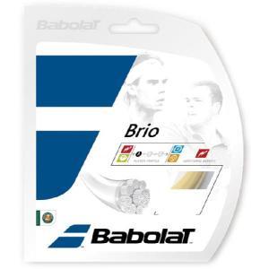 「5張セット」バボラ BabolaT 硬式テニスストリング ガット 「Brio(ブリオ) 125/130/135 BA241118」|sportsjapan