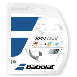 BabolaT バボラ 「RPM DUAL  RPMデュアル125/130  BA241122」硬式テニスストリング ガット 『即日出荷』|sportsjapan