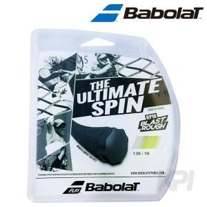『即日出荷』「2017新製品」BabolaT バボラ 「RPM BLAST ROUGH RPM ブラスト ラフ 125/130 BA241136」硬式テニスストリング ガット|sportsjapan
