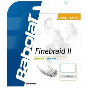 『即日出荷』BabolaT(バボラ)「FINEBRAID II 070(ファインブレード II 070)200mロール BA243099」バドミントンストリング(ガット)KPI+|sportsjapan
