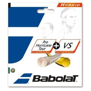 Babolat バボラ 「プロハリケーンツアー+VS BA281030」硬式テニスストリング ガット 『即日出荷』|sportsjapan