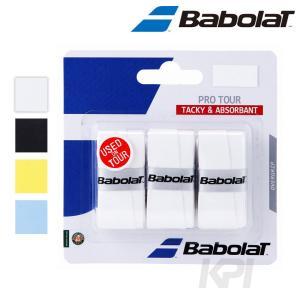 BabolaT バボラ 「Pro Tour プロツアー×3   3本入  BA653037」オーバーグリップテープKPI+|sportsjapan