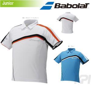 『即日出荷』 Babolat(バボラ)「Unisex ジュニアゲームポロシャツ BAB-1617J」テニスウェア「2016SS」KPI+|sportsjapan