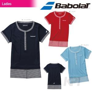『即日出荷』 Babolat(バボラ)「Women's レディース ゲームシャツ BAB-1641W」テニスウェア「2016SS」KPI+|sportsjapan