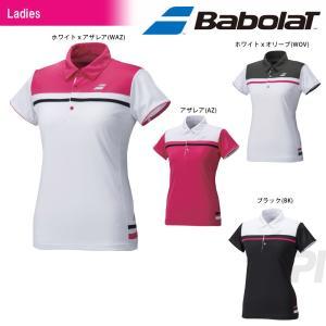 『即日出荷』 Babolat バボラ 「Women's レディース ショートスリーブシャツ BAB-1693W」テニスウェア「2016FW」 KPI+|sportsjapan