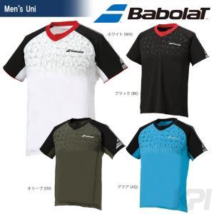 『即日出荷』「2017新製品」Babolat バボラ 「Unisex ショートスリーブシャツ BAB-1714」テニスウェア「2017SS」|sportsjapan