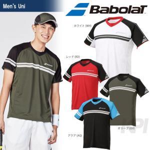 『即日出荷』「2017新製品」Babolat バボラ 「Unisex ショートスリーブシャツ BAB-1715」テニスウェア「2017SS」|sportsjapan
