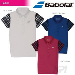 「2017新製品」Babolat バボラ 「Women's レディース ショートスリーブシャツ BAB-1739W」テニスウェア「2017SS」|sportsjapan