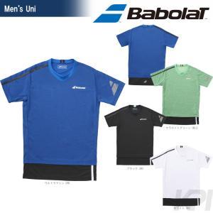 バボラ Babolat 「Unisex ショートスリーブシャツ BAB-1753」テニスウェア「2017FW」『即日出荷』|sportsjapan