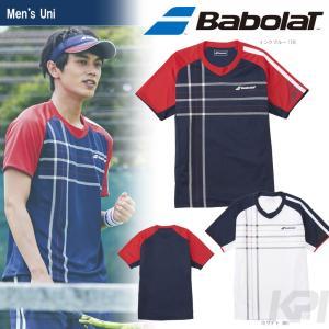 バボラ Babolat 「Unisex ショートスリーブシャツ BAB-1755」テニスウェア「2017FW」『即日出荷』|sportsjapan