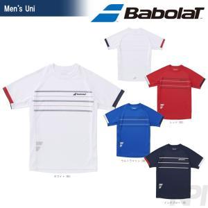 バボラ Babolat 「Unisex ショートスリーブシャツ BAB-1756」テニスウェア「2017FW」『即日出荷』|sportsjapan