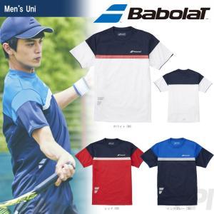 バボラ Babolat 「Unisex ショートスリーブシャツ BAB-1758」テニスウェア「2017FW」『即日出荷』|sportsjapan