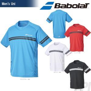 バボラ Babolat 「Unisex ショートスリーブシャツ BAB-1763」テニスウェア「2017FW」『即日出荷』|sportsjapan