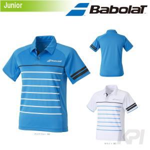 「2017新製品」バボラ Babolat 「Unisex ジュニア ショートスリーブシャツ BAB-1764J」テニスウェア「2017FW」|sportsjapan