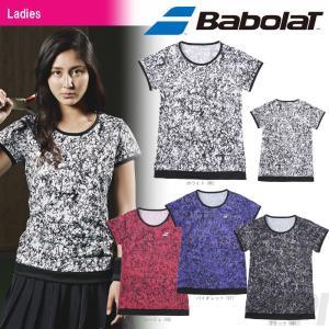 バボラ Babolat 「Women's レディース ショートスリーブシャツ BAB-1782W」テニスウェア「2017FW」『即日出荷』|sportsjapan