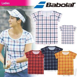 バボラ Babolat 「Women's レディース ショートスリーブシャツ BAB-1783W」テニスウェア「2017FW」『即日出荷』|sportsjapan