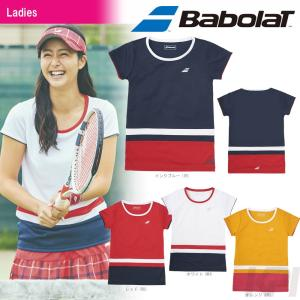 バボラ Babolat 「Women's レディース ショートスリーブシャツ BAB-1785W」テニスウェア「2017FW」『即日出荷』|sportsjapan