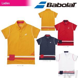 テニスウェア レディース バボラ Babolat Women's ショートスリーブシャツ BAB-1786W 2017FW 2017新製品|sportsjapan
