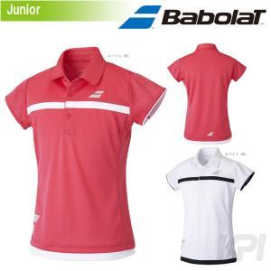 バボラ Babolat 「Women's レディース ガールズ ショートスリーブシャツ BAB-1790WJ」テニスウェア「2017FW」『即日出荷』|sportsjapan