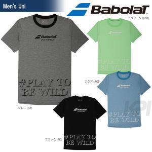 『即日出荷』「2017新製品」Babolat バボラ 「Unisex ショートスリーブシャツ BAB-8700」テニスウェア「2017SS」|sportsjapan