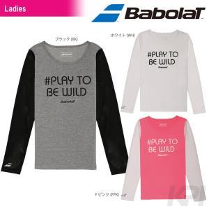 「2017新製品」Babolat バボラ 「Women's レディース ロングスリーブシャツ BAB-8732W」テニスウェア「2017SS」『即日出荷』 sportsjapan