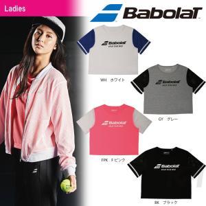 「2017新製品」Babolat バボラ 「Women's レディース ショートスリーブシャツ BAB-8740W」テニスウェア「2017SS」『即日出荷』[ネコポス可]|sportsjapan
