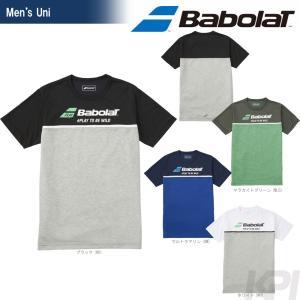 バボラ Babolat 「Unisex ショートスリーブシャツ BAB-8751」テニスウェア「2017FW」『即日出荷』|sportsjapan