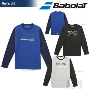 バボラ Babolat テニスウェア Unisex ロングスリーブシャツ BAB-8752 2017FW 「2017新製品」|sportsjapan
