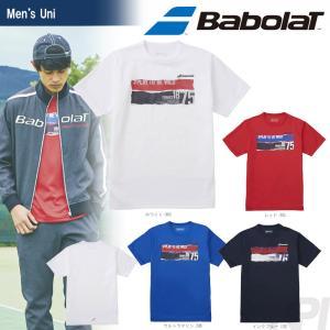 バボラ Babolat 「Unisex ショートスリーブシャツ BAB-8753」テニスウェア「2017FW」『即日出荷』|sportsjapan