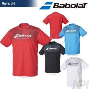 「2017新製品」バボラ Babolat 「Unisex ショートスリーブシャツ BAB-8755」テニスウェア「2017FW」|sportsjapan