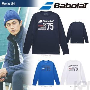 バボラ Babolat テニスウェア Unisex ロングスリーブシャツ BAB-8757 2017FW 「2017新製品」|sportsjapan
