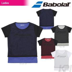 バボラ Babolat 「Women's レディース ショートスリーブシャツ BAB-8780W」テニスウェア「2017FW」『即日出荷』|sportsjapan