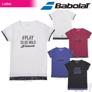 バボラ Babolat テニスウェア Women's レディース ショートスリーブシャツ BAB-8781W 2017FW 「2017新製品」|sportsjapan